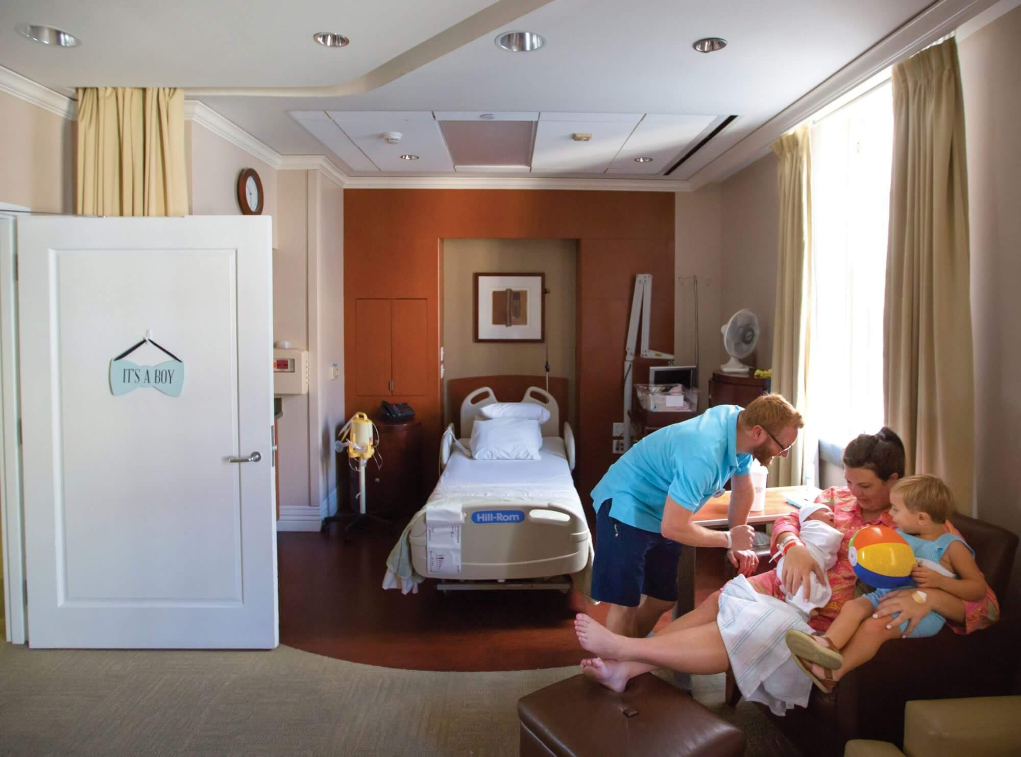 Hospital suites across the Texas Medical Center offer patients a
