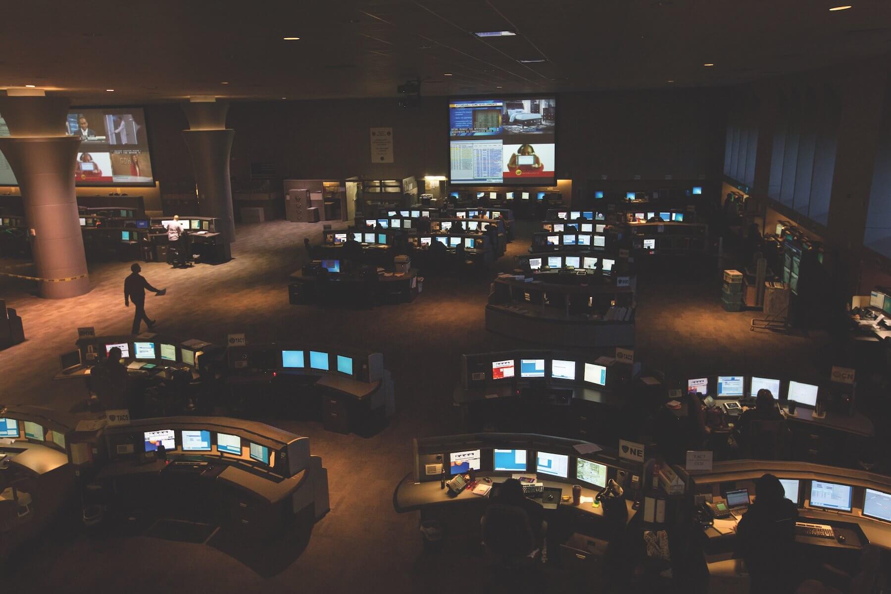 The Houston Emergency Center handles 9,000 calls per day.