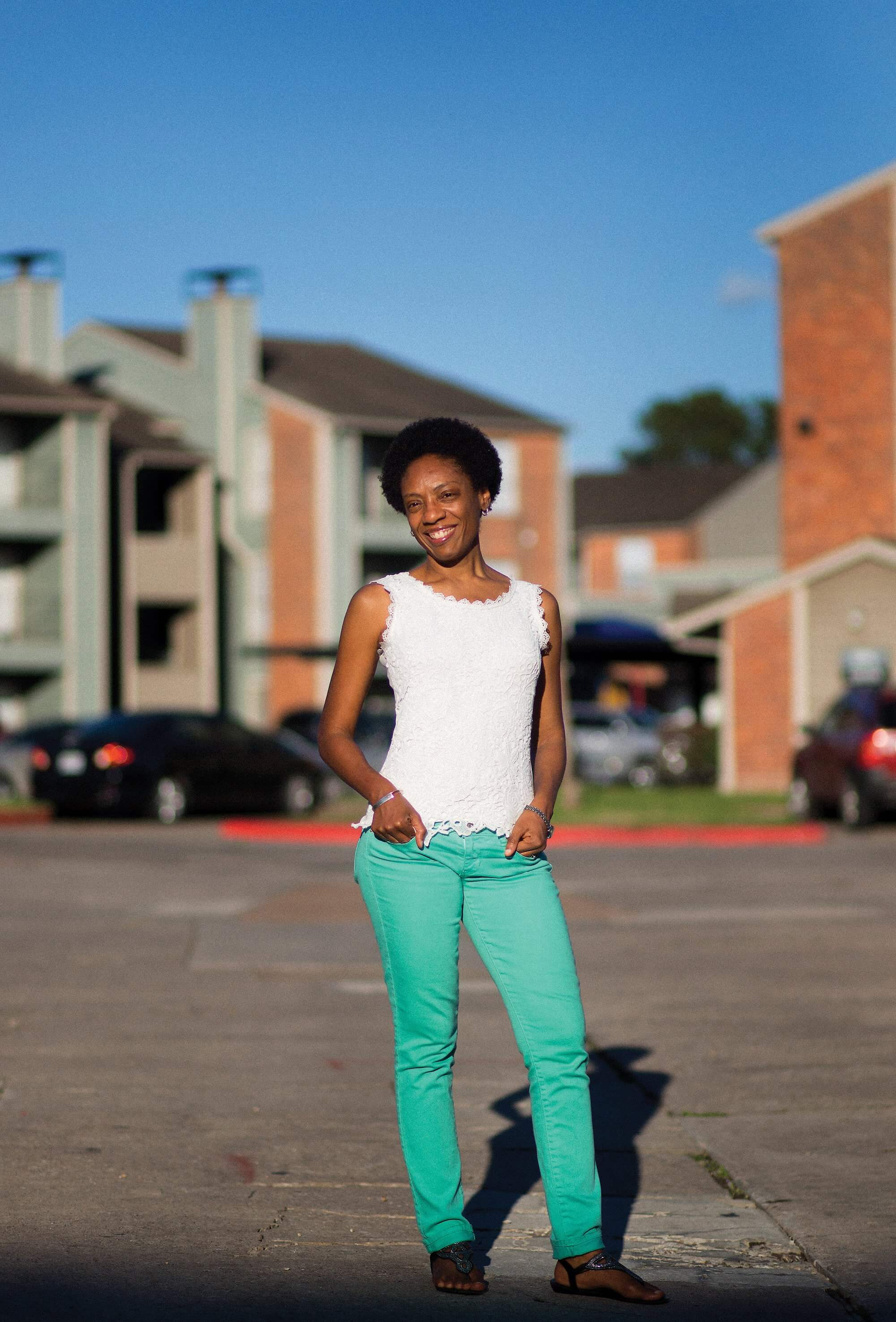 Shasta Theodore, Ph.D., second-year student at McGovern Medical School at The University of Texas Health Science Center at Houston.