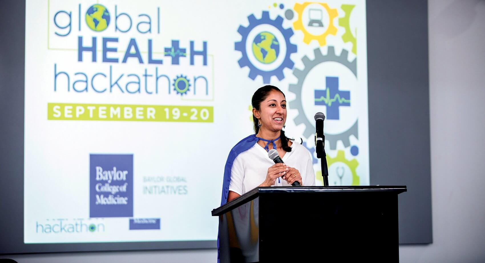 Sharmila Anandasabapathy, M.D., director of Baylor Global Initiatives