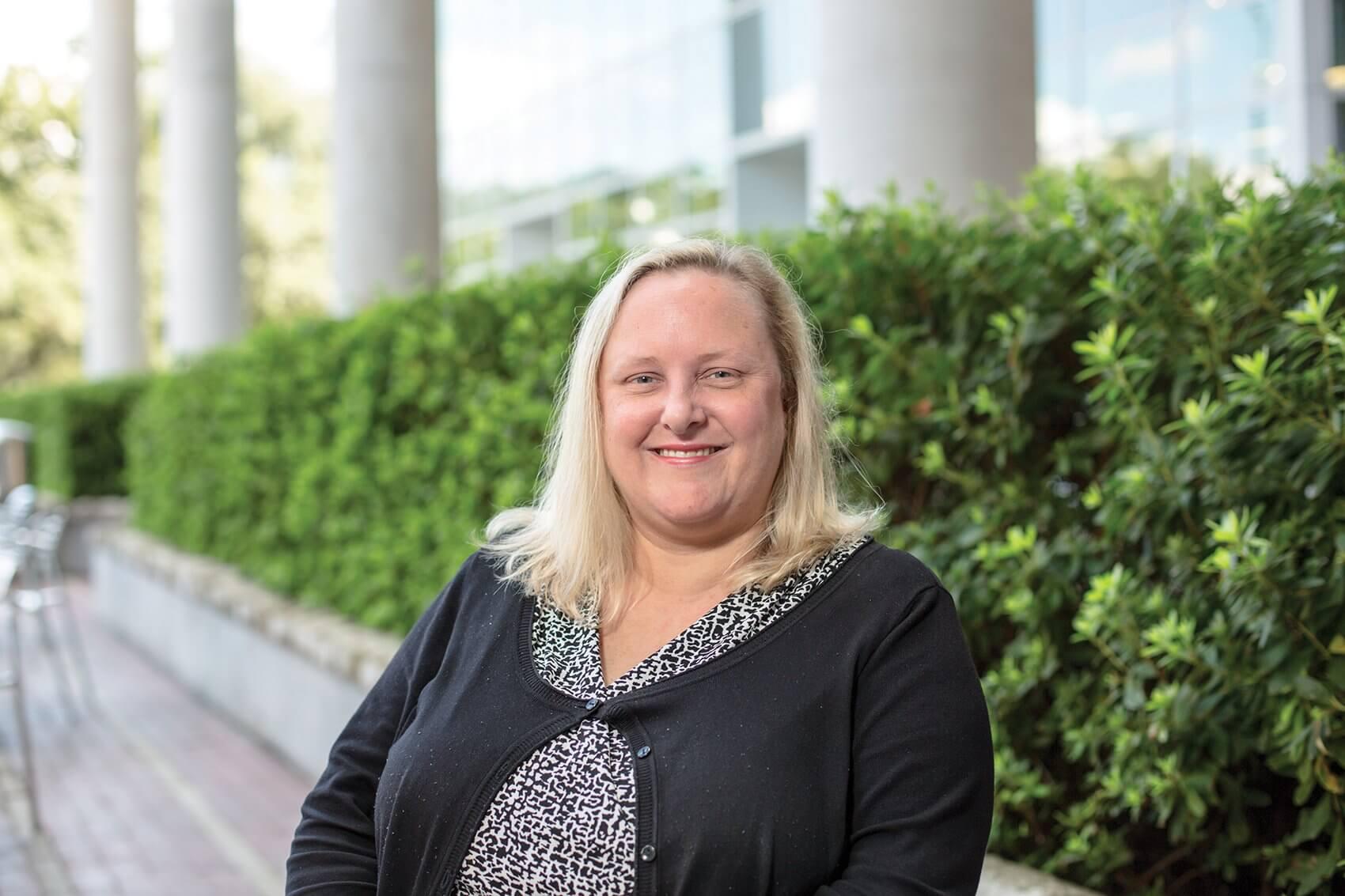 Jane Grande-Allen, Ph.D., Isabel C. Cameron Professor of Bioengineering at Rice University