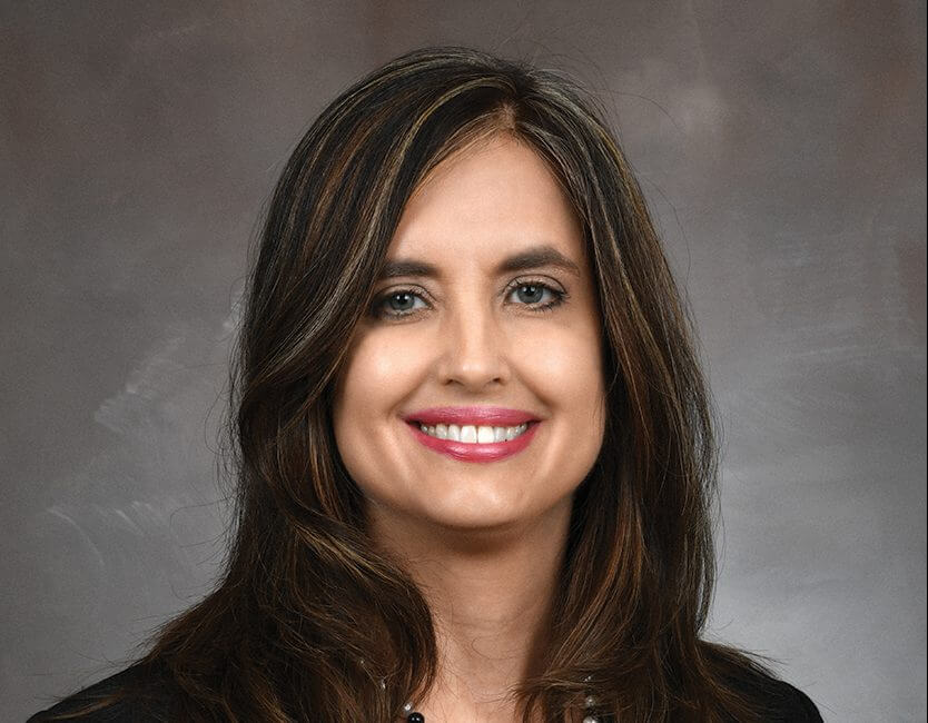 JANE HAMILTON, PH.D., M.P.H., assistant professor of psychiatry and behavioral sciences at McGovern Medical School at UTHealth, was selected to serve on AcademyHealth's Behavioral Health Interest Group National Advisory Committee (Credit: Dwight C. Andrews/McGovern Medical School at UTHealth).
