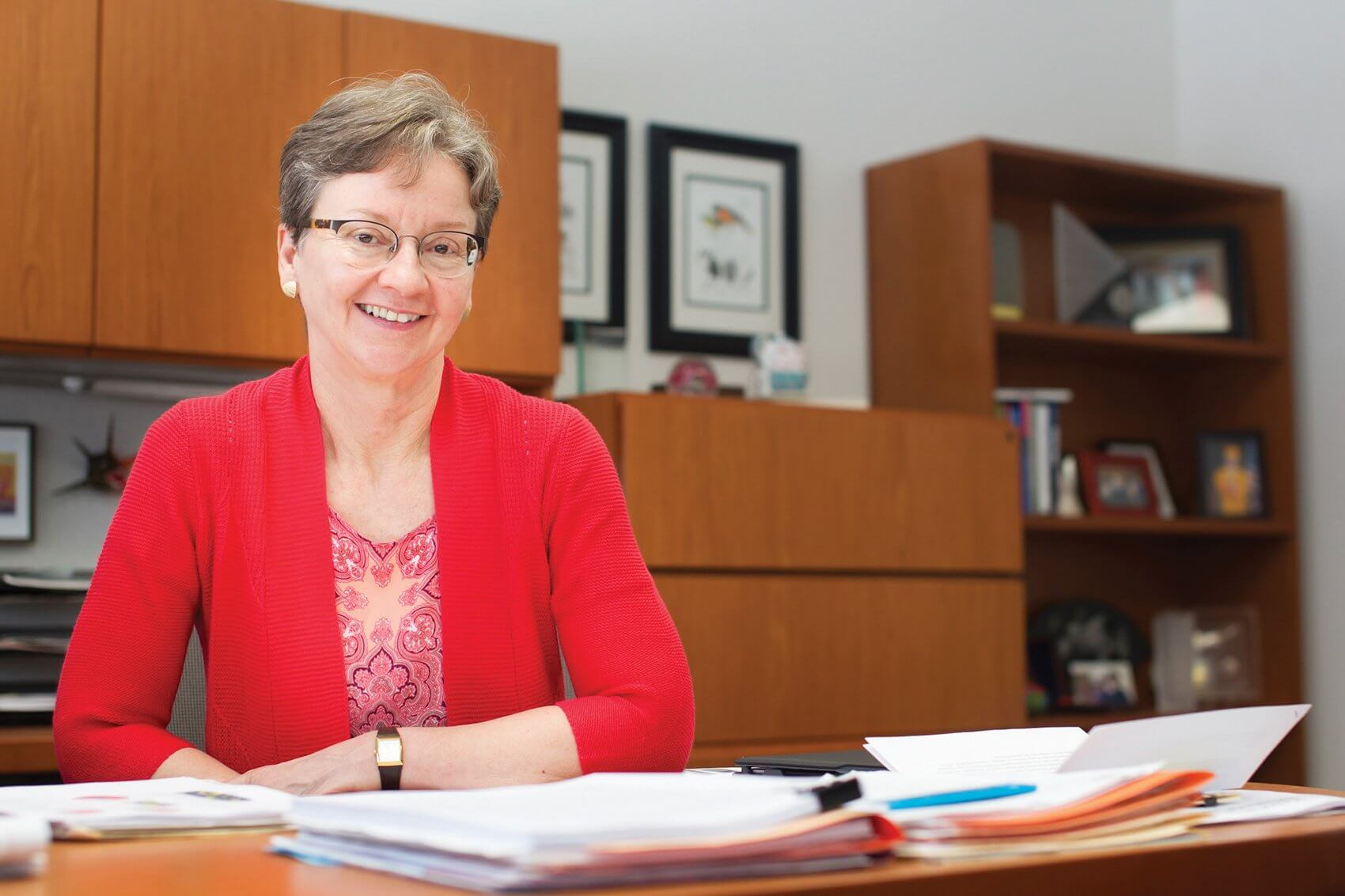 Michelle C. Barton, Ph.D., professor in the department of epigenetics and molecular carcinogenesis at MD Anderson Cancer Center