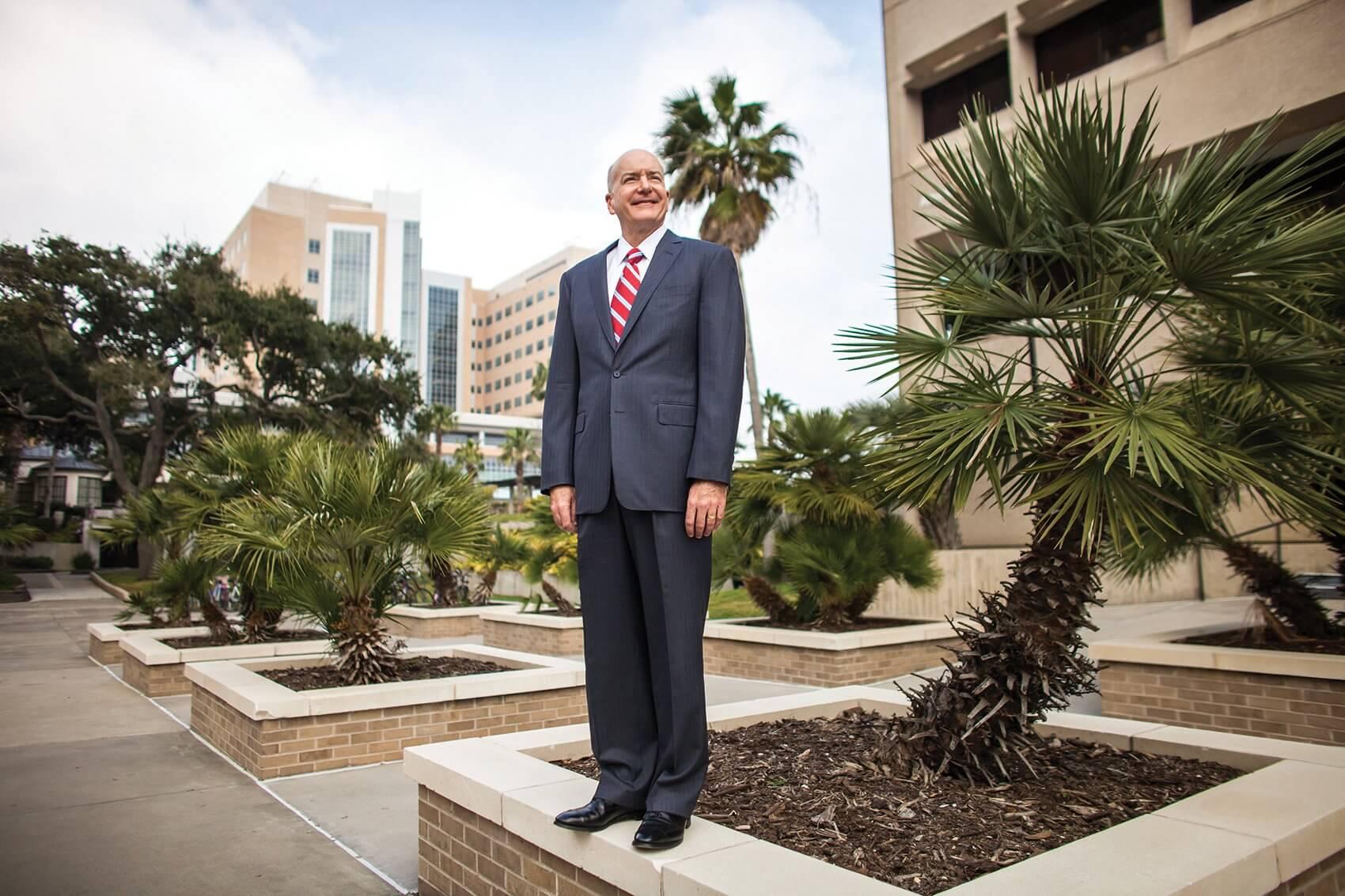 David L. Callender, M.D., president of The University of Texas Medical Branch at Galveston