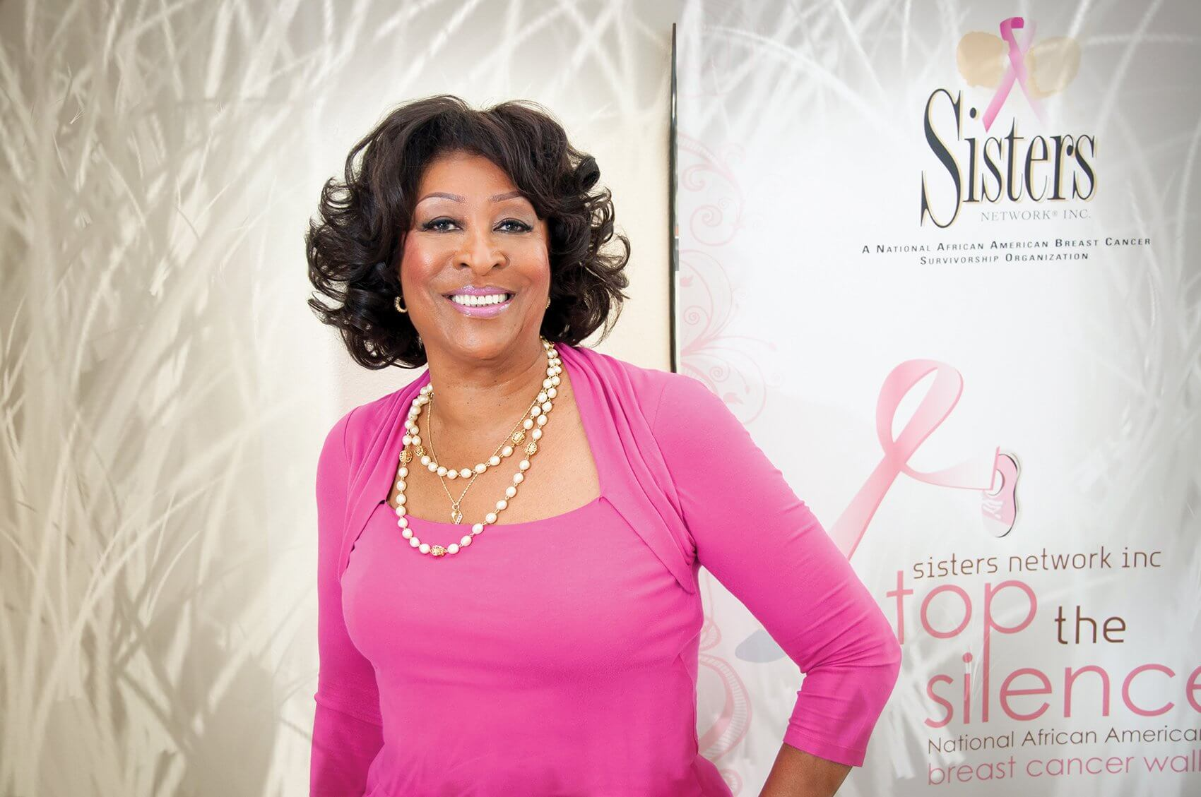 Karen Jackson, founder & CEO of Sisters Network Inc., created an organization she would have liked to join after her own battle with breast cancer. (Credit: Sisters Network Inc.)