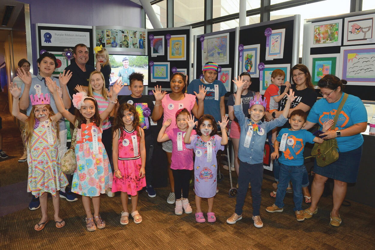 "The Periwinkle Foundation's 28th ""Making A Mark"" art exhibit unveiled art and creative writing by children touched by cancer and blood disorders at TEXAS CHILDREN'S CANCER AND HEMATOLOGY CENTERS."