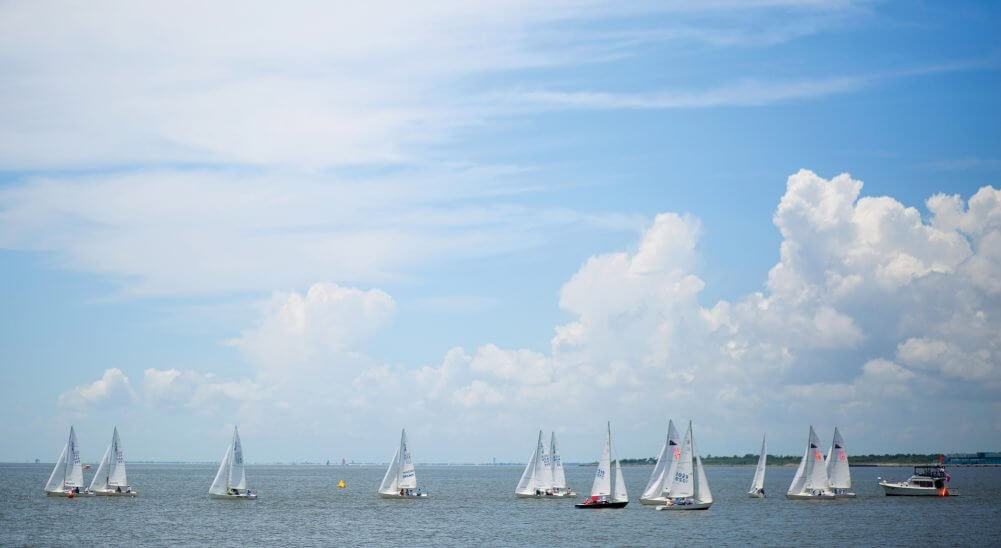 Fifty-five teams participated in the Houston Yacht Club's 18th Annual Leukemia Cup Regatta.