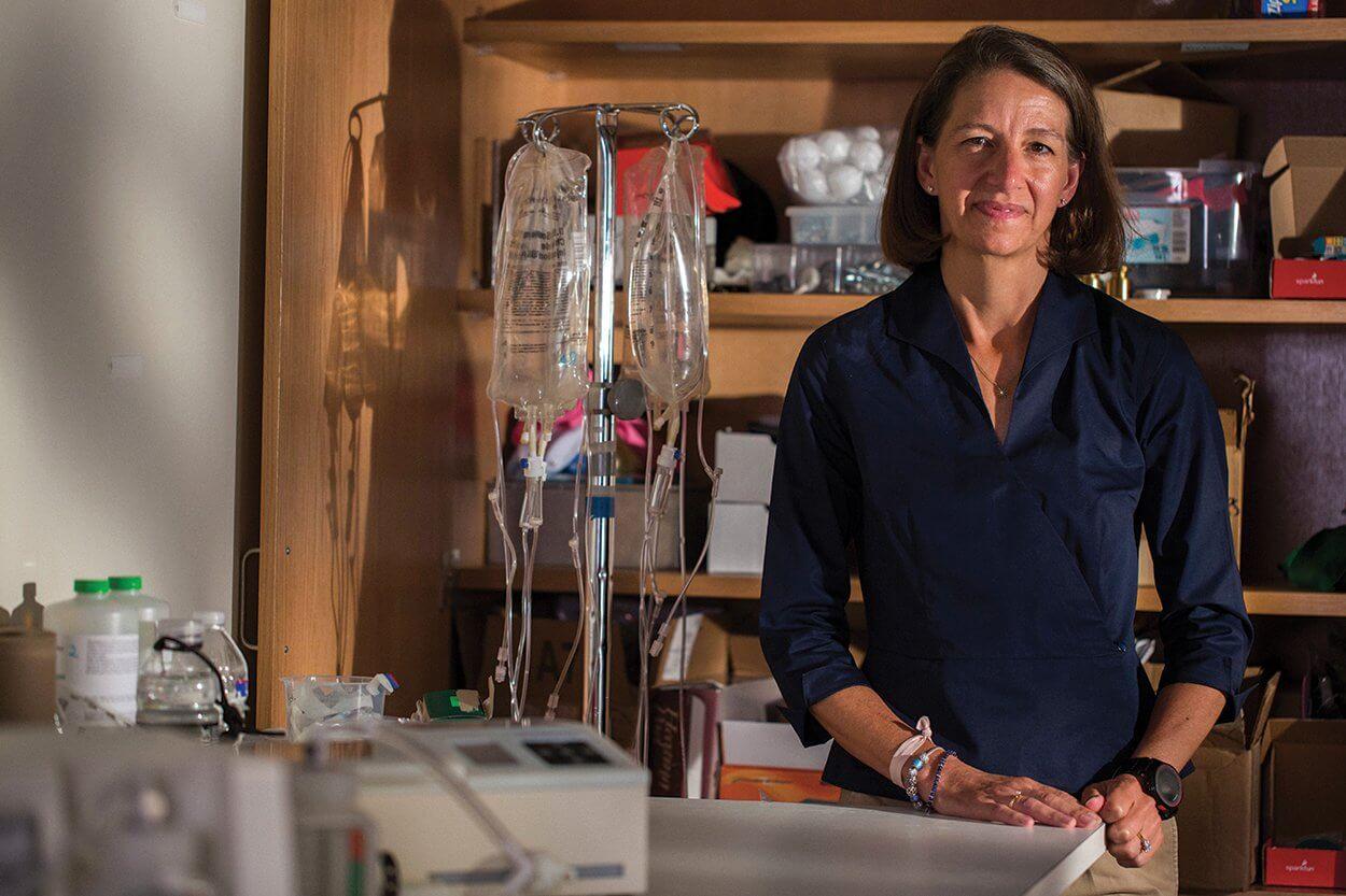 Rebecca Richards-Kortum, 2016 MacArthur Fellow, BioScience Research Collaborative at Rice University, Houston, August 31, 2016.
