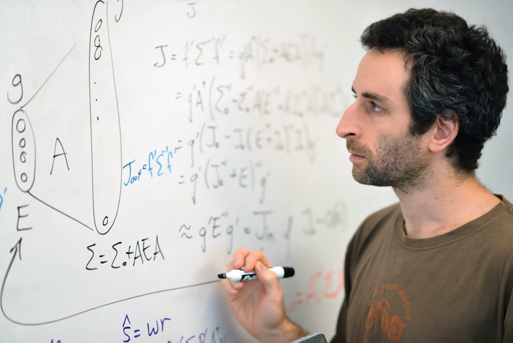 Neuroscientist Xaq Pitkow, Ph.D. (Credit: Agapito Sanchez Jr./Baylor College of Medicine)