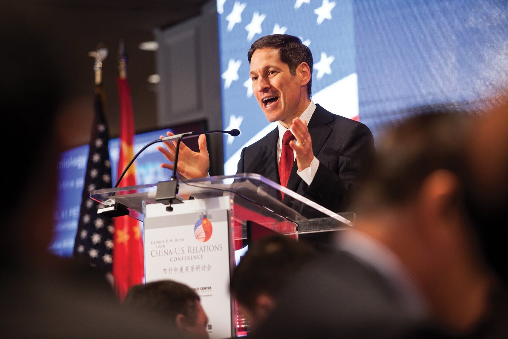 Keynote speaker Thomas Frieden, M.D., director of the U.S. Centers for Disease Control and Prevention.