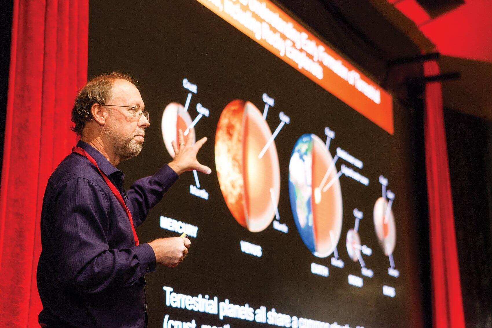 Bruce Banerdt, Ph.D., senior scientist and principal investigator for the InSight Lander Mission to Mars at the Jet Propulsion Laboratory, explores the geology of earth-like planets and the future of InSight Lander missions.
