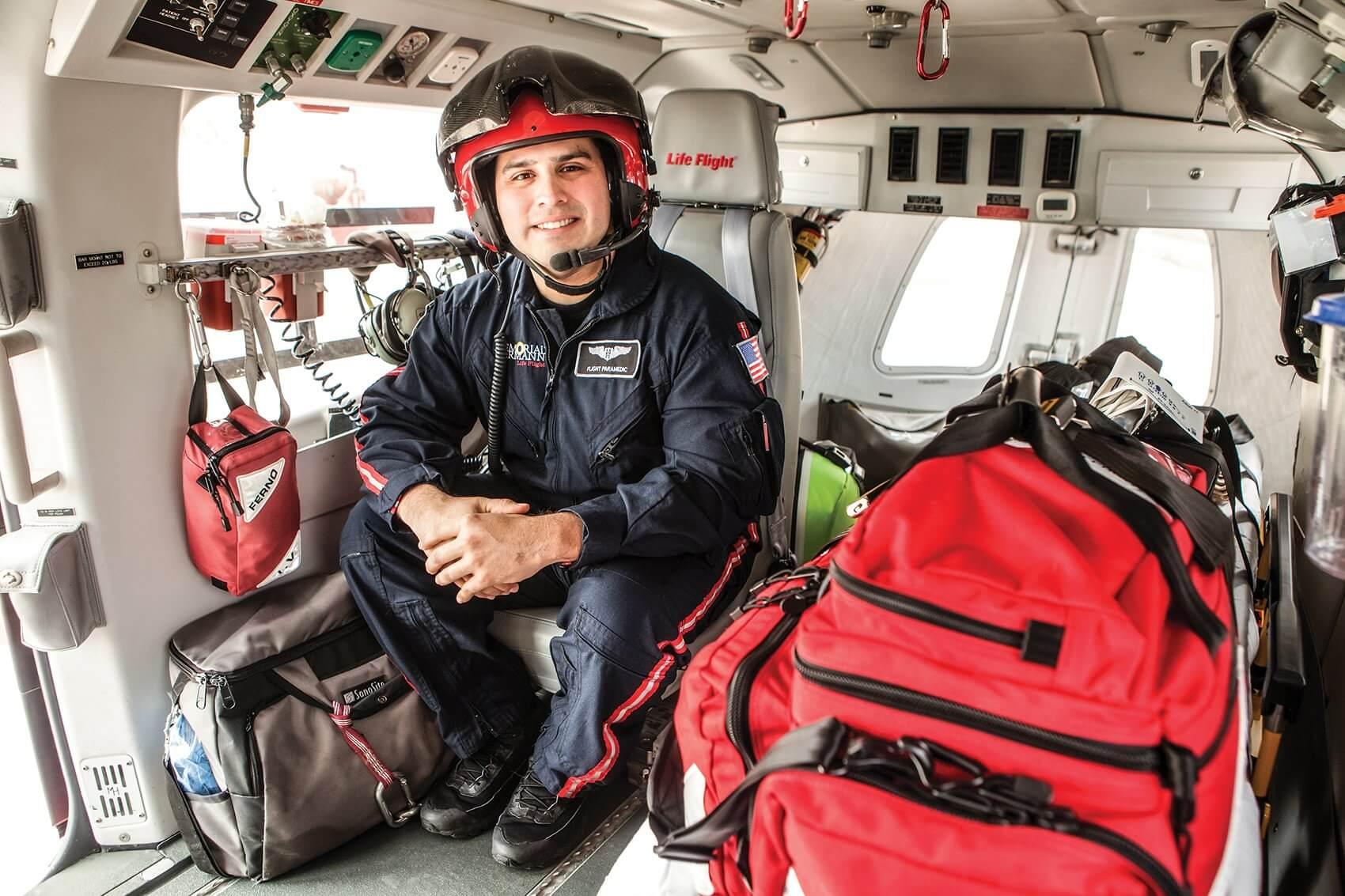 Thomas De La Fuente, Flight Paramedic, Memorial Hermann Life Flight