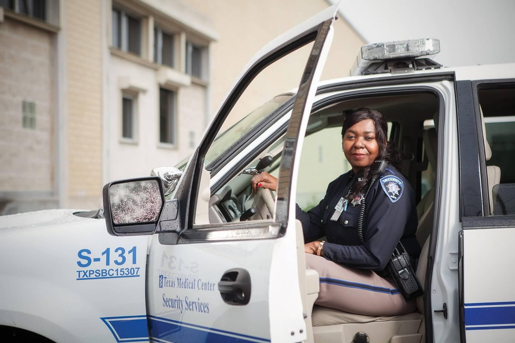 Regina Bell, Proprietary Security Officer, Texas Medical Center