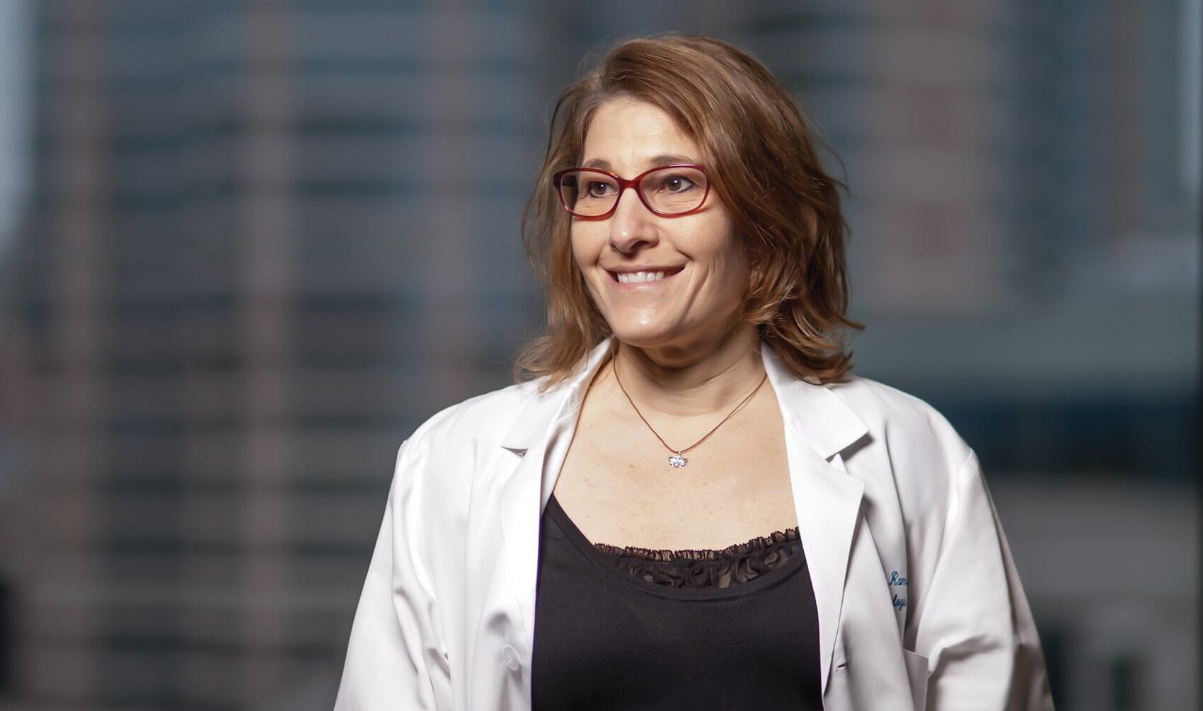 Lois Ramondetta, M.D., Professor of Gynecologic Oncology and Reproductive Medicine and Chief of Gynecologic Oncology at Lyndon B. Johnson General Hospital