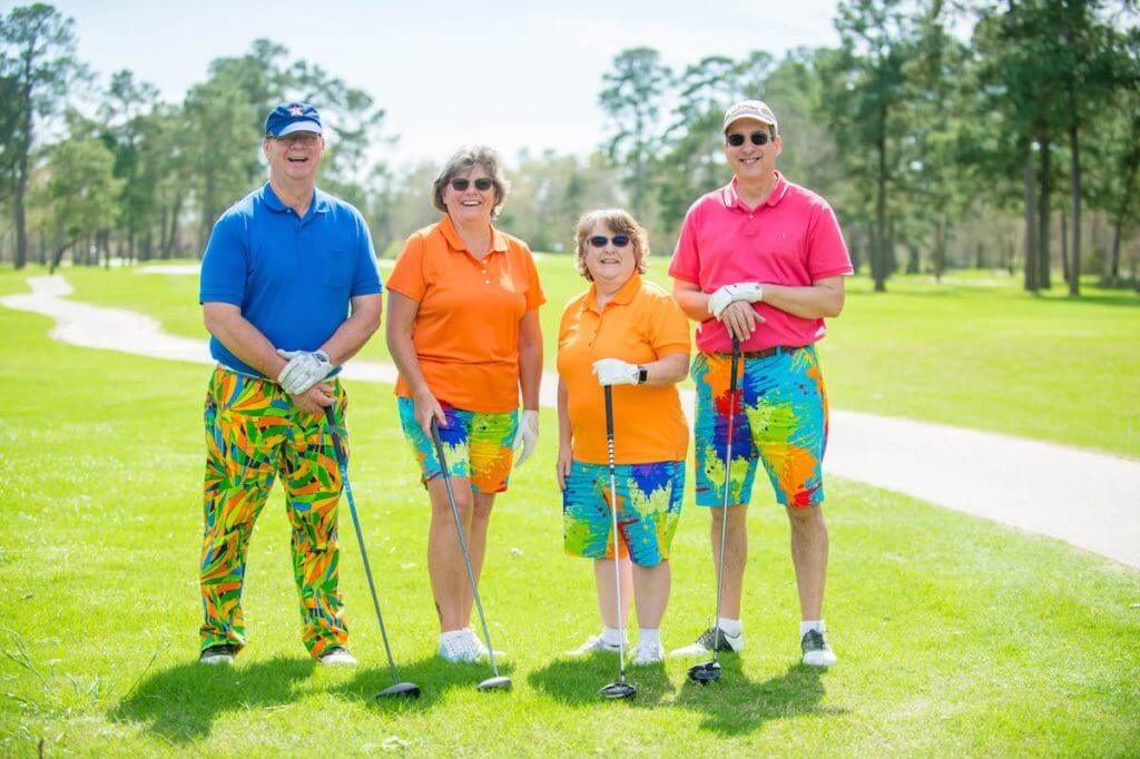 Golfers raised more than $500,000 at the 20th annual Bad Pants Open, benefiting Texas Children's Newborn Center, a level IV neonatal intensive care unit.
