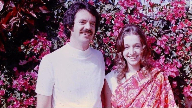 Drs. Ben and Sharon Raimer in India in 1975.