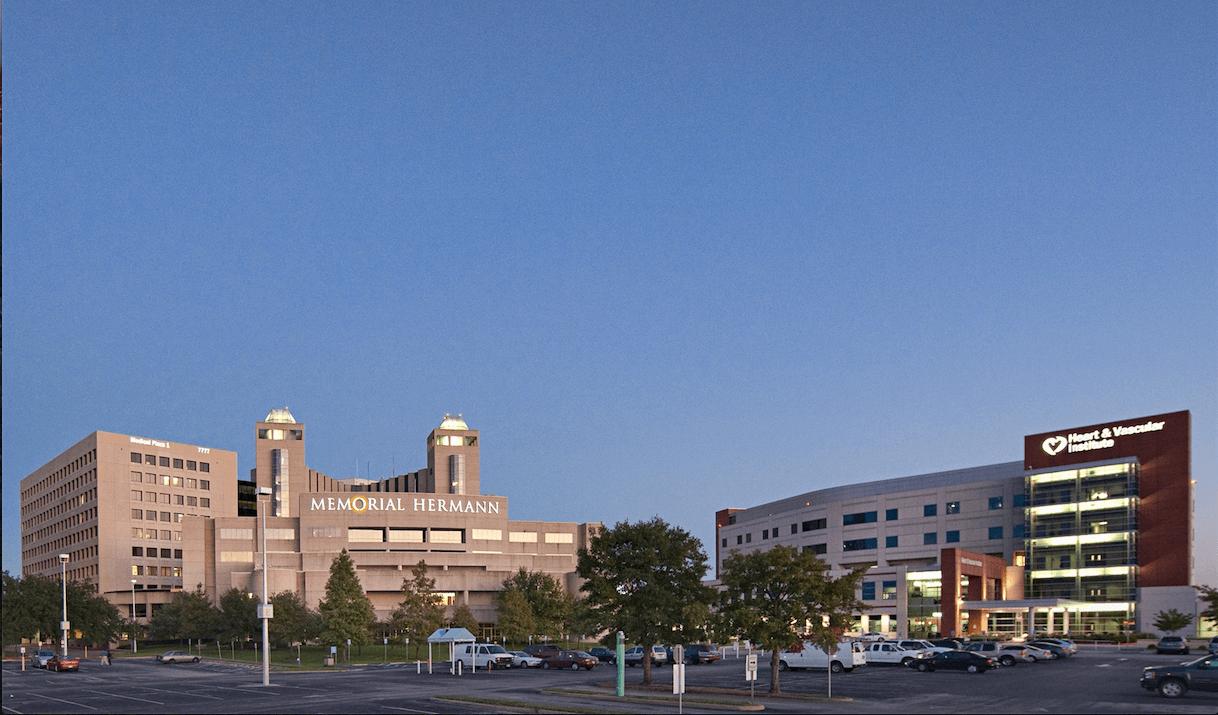 Memorial Hermann Southwest Hospital courtesy of Memorial Hermann