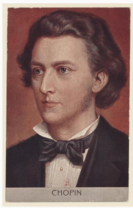 Frederic Chopin, 1810-1849.