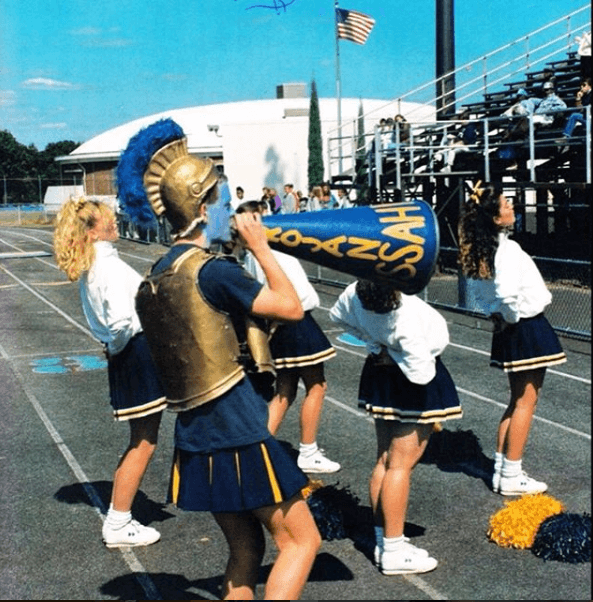 Robert Boudwin's first gig as a mascot in 1991.