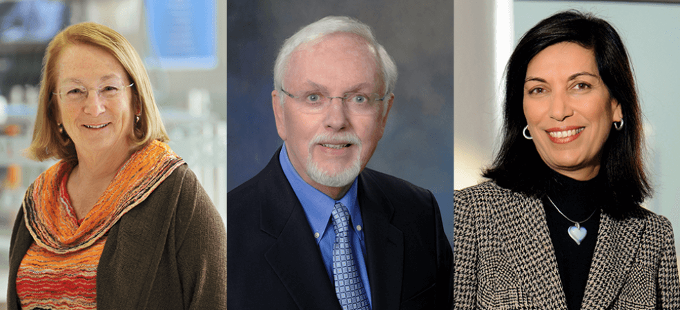 Mary K. Estes, Ph.D., Bert O'Malley, M.D., and Huda Zoghbi, M.D.