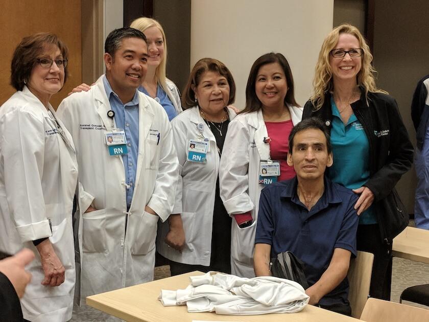 Silviano Trino lung transplant