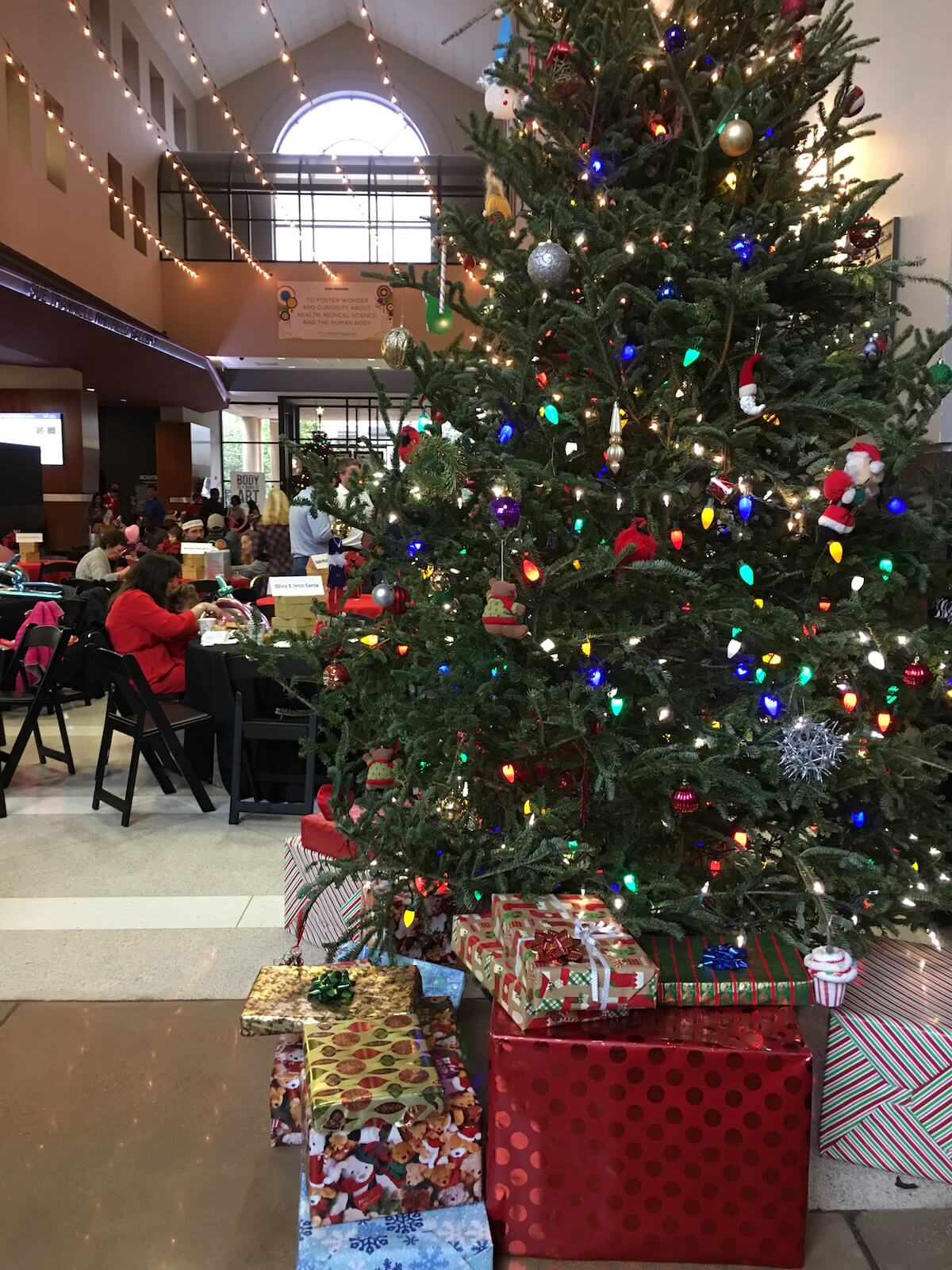 It's beginning to look a lot like Christmas at The Health Museum.