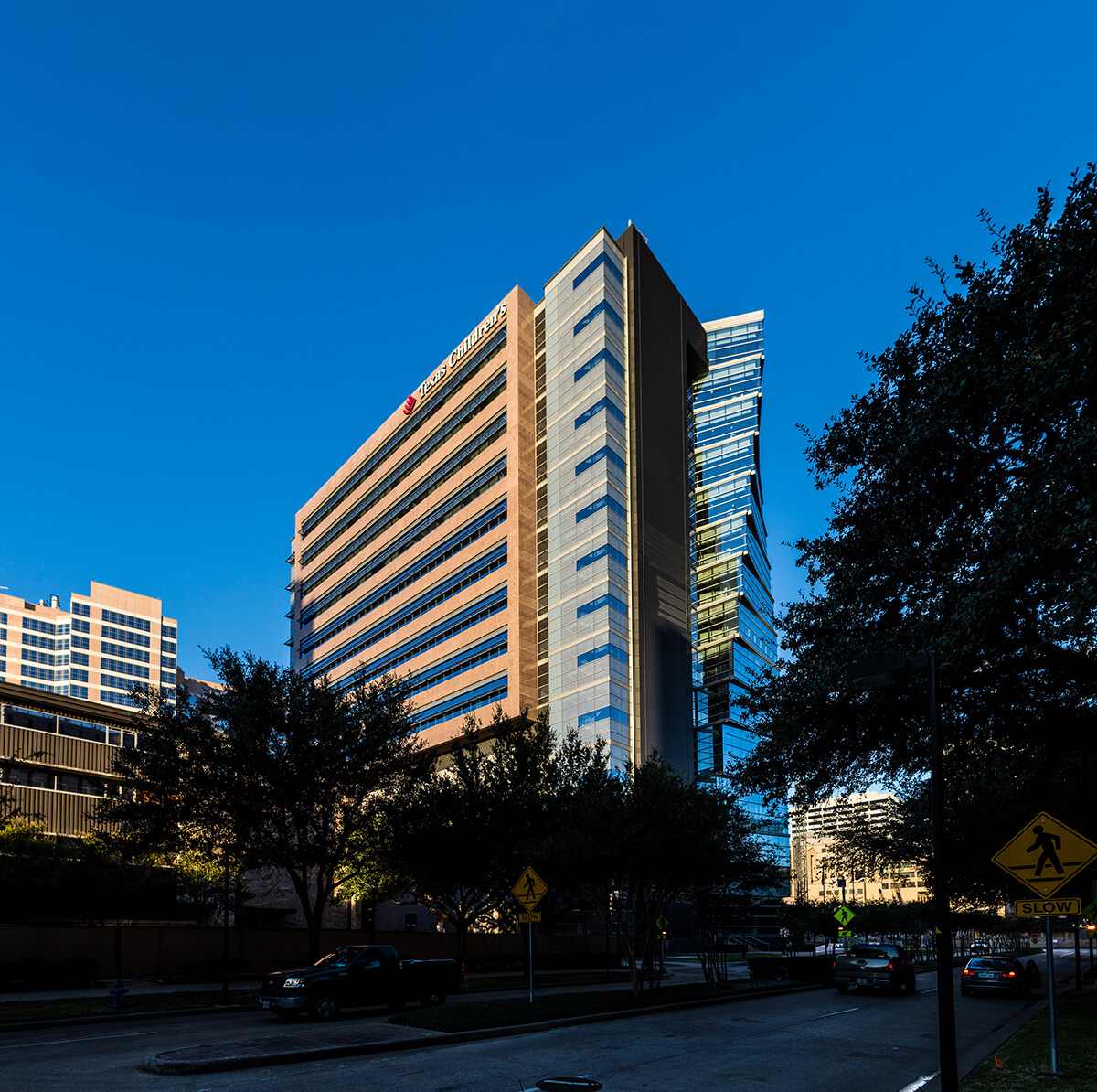 Texas Children's Hospital was ranked No. 4 in the country for pediatric care.