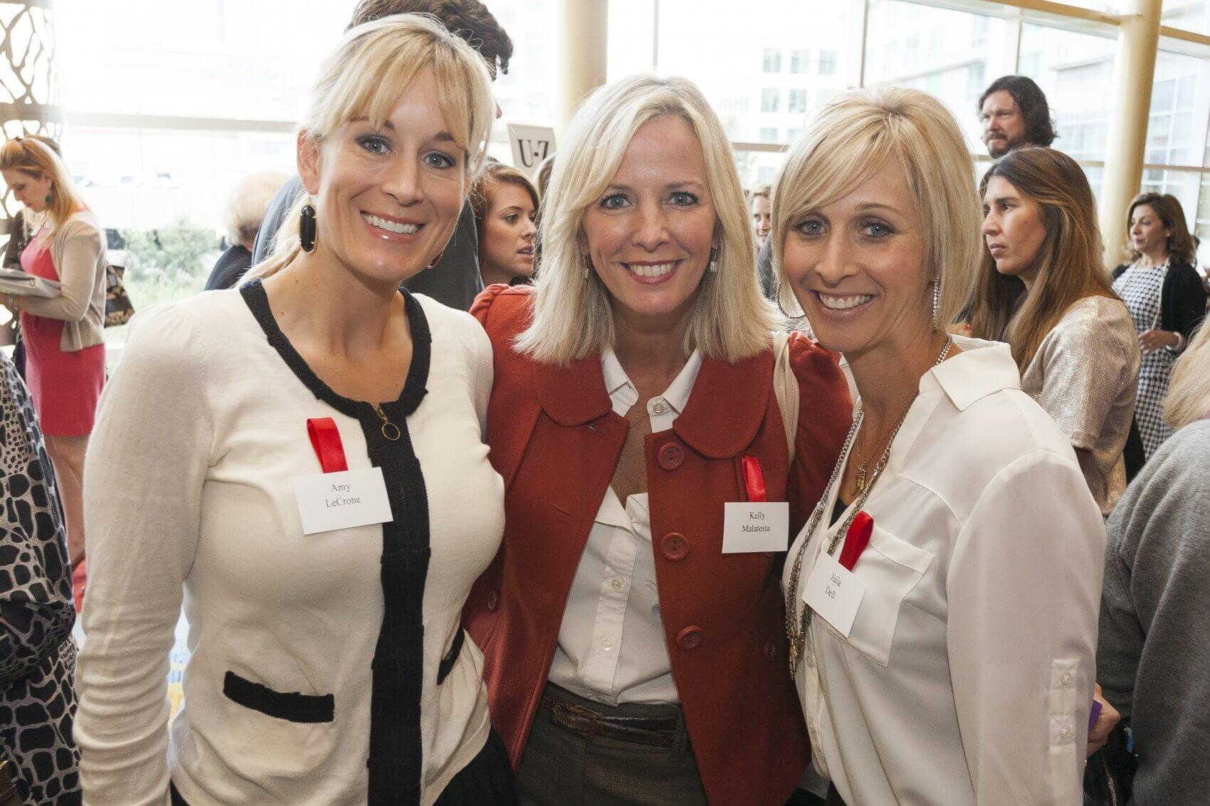 Amy LeCrone, Kelly Malatesta and Julia Dell (Credit: John Lewis Photography)