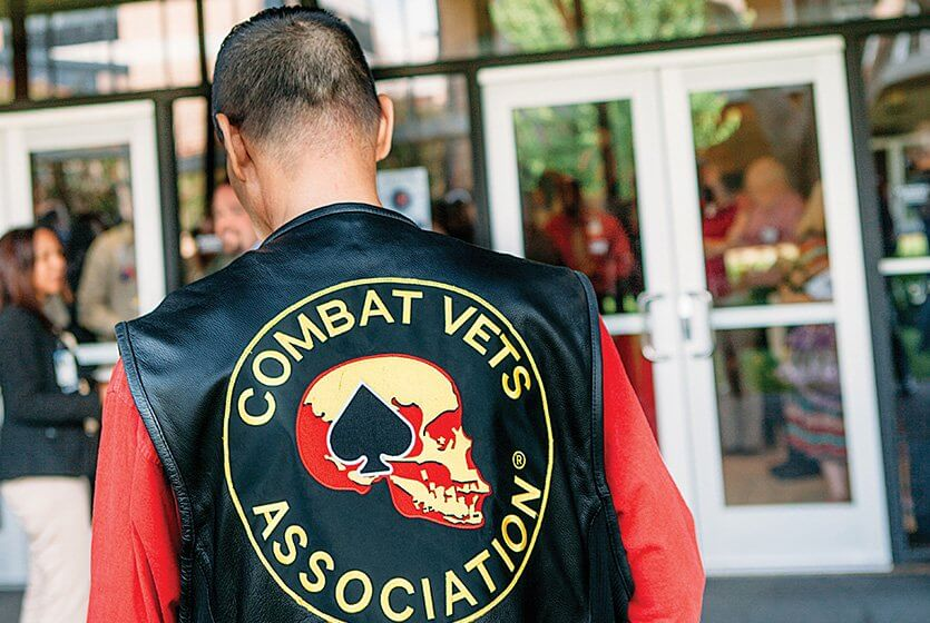 Through peer support groups—like the Combat Veterans Motorcycle Association—many veterans find comfort in sharing the challenges and triumphs of civilian life.