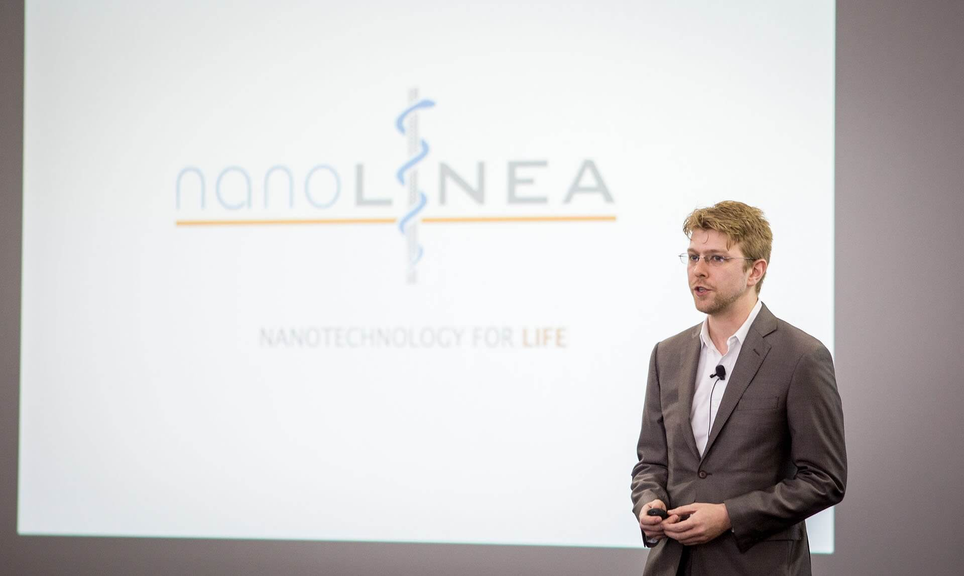 Colin Young, chief executive officer of NanoLinea.