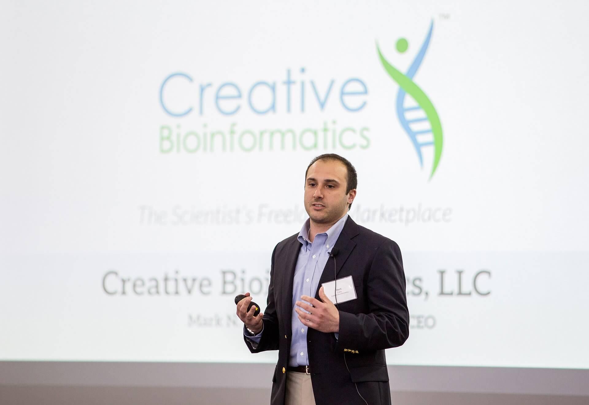 Mark Ziats, Ph.D., president of Creative Bioinformatics