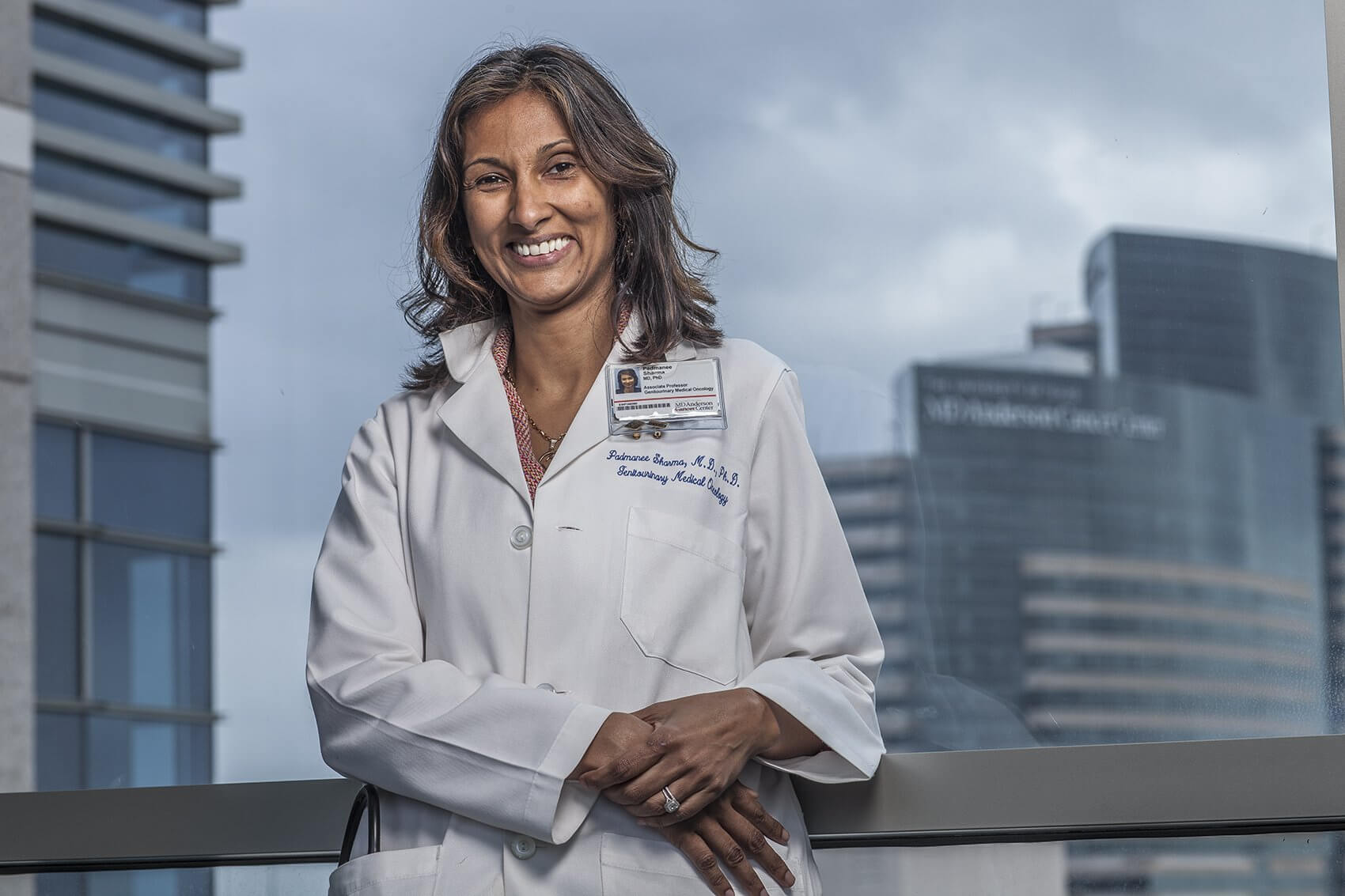 Padmanee Sharma, M.D., Ph.D., Professor of Genitourinary Medical Oncology and Immunology at The University of Texas MD Anderson Cancer Center