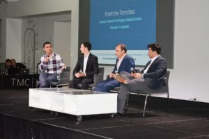 """From the Trenches: Lessons Learned in Bringing Medical Device Concepts to Market"" panel."