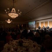 Guests of the Sixth annual Fall Speakers Series listened to the panel discussion
