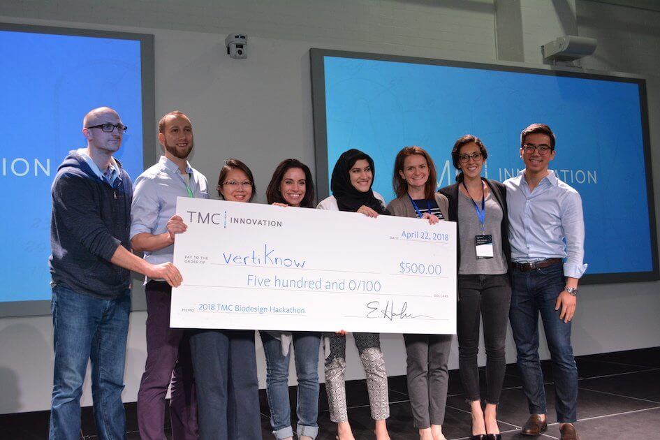 VertiKnow TMC Biodesign Hackathon