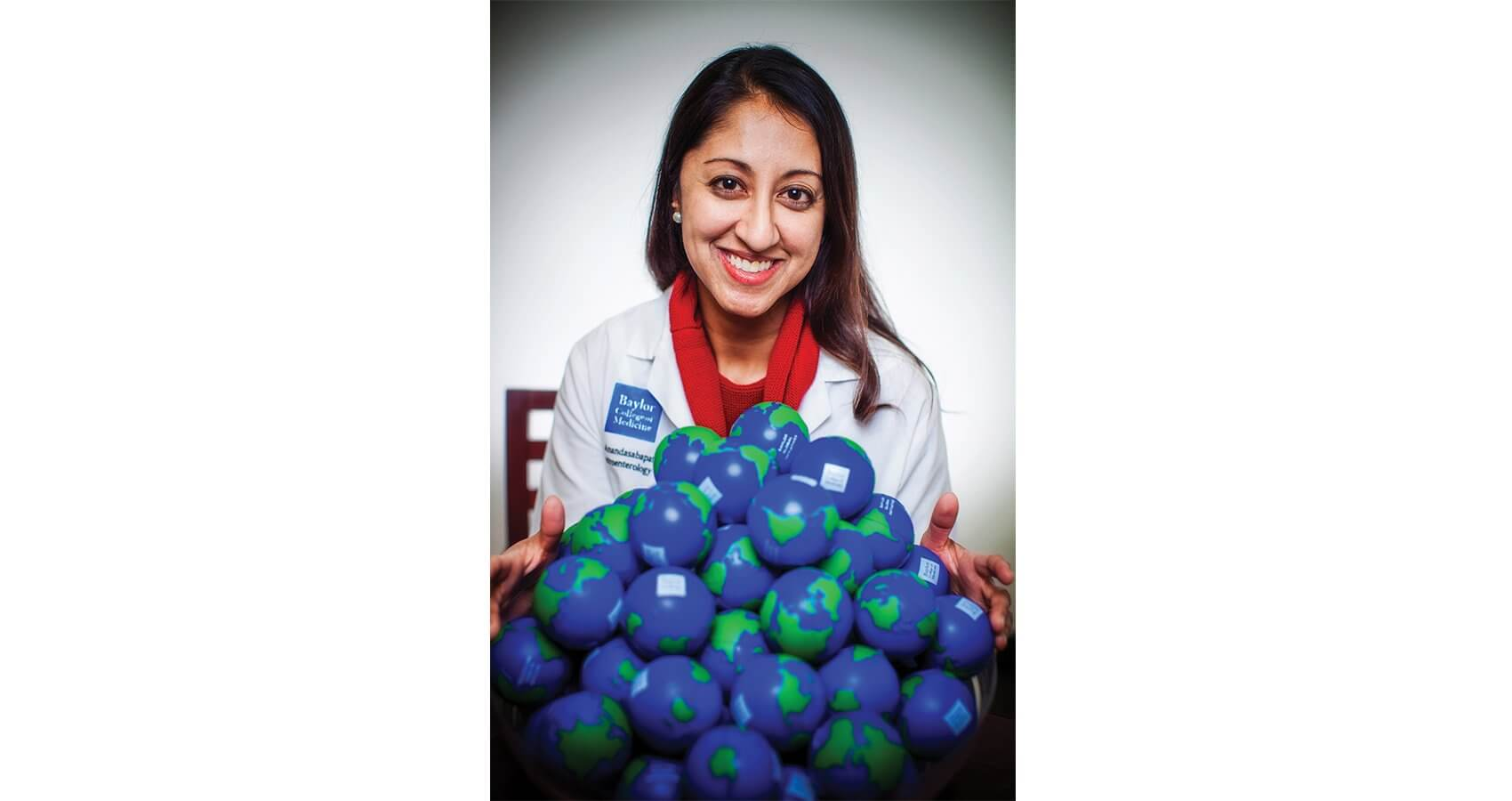 Sharmila Anandasabapathy, M.D. Professor and Director of Baylor Global Initiatives and Baylor Innovation Center