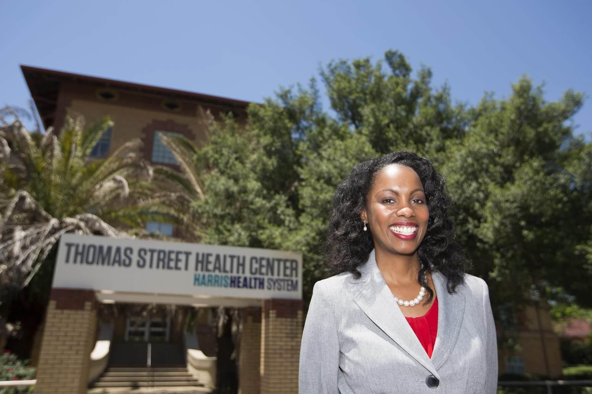Charlene Flash, M.D., assistant medical director of HIV services for Harris Health System and assistant professor at Baylor College of Medicine.