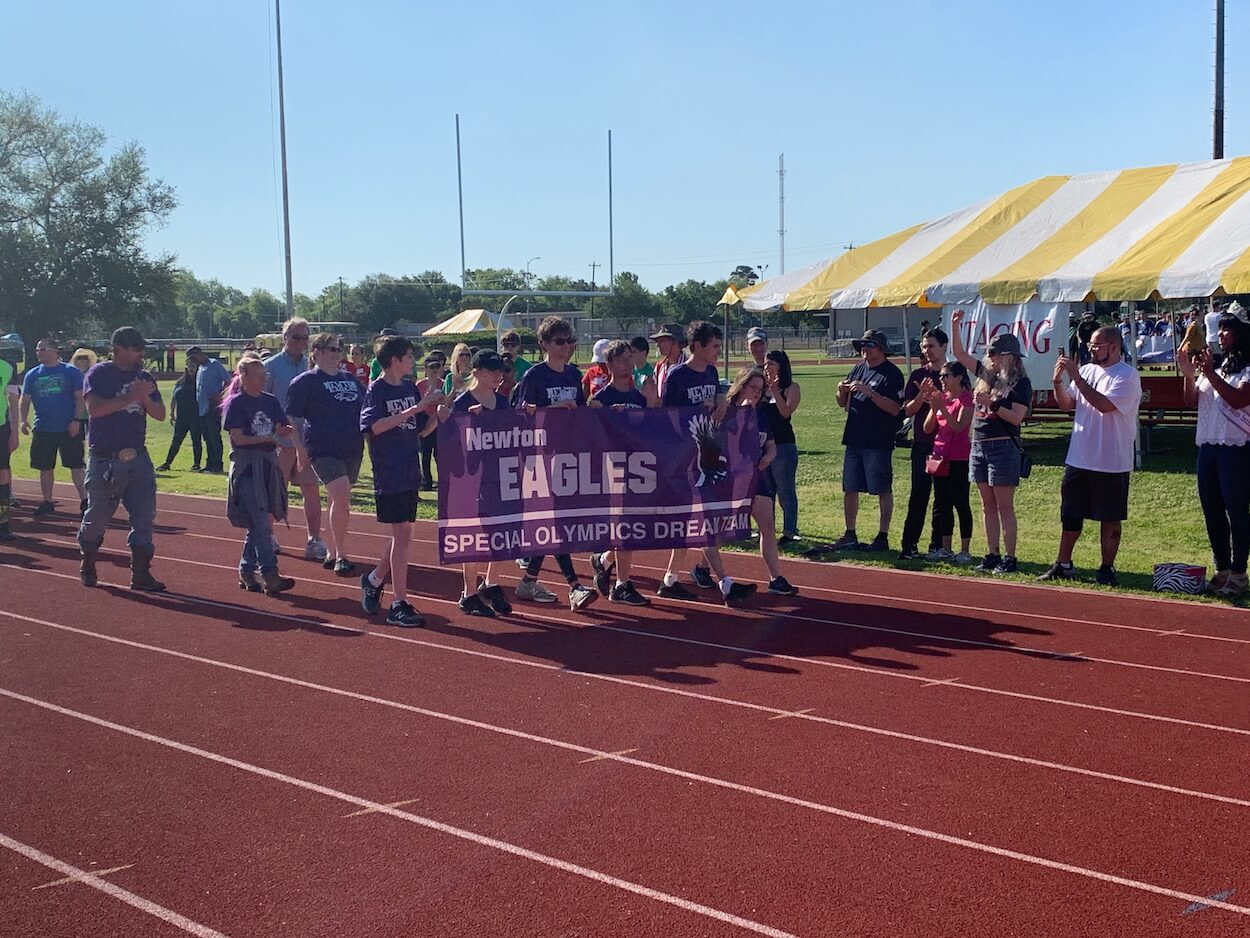 Athletes from the Greater Houston area traveled to Baytown, Texas to compete in qualifying events for the statewide Special Olympics in San Antonio.