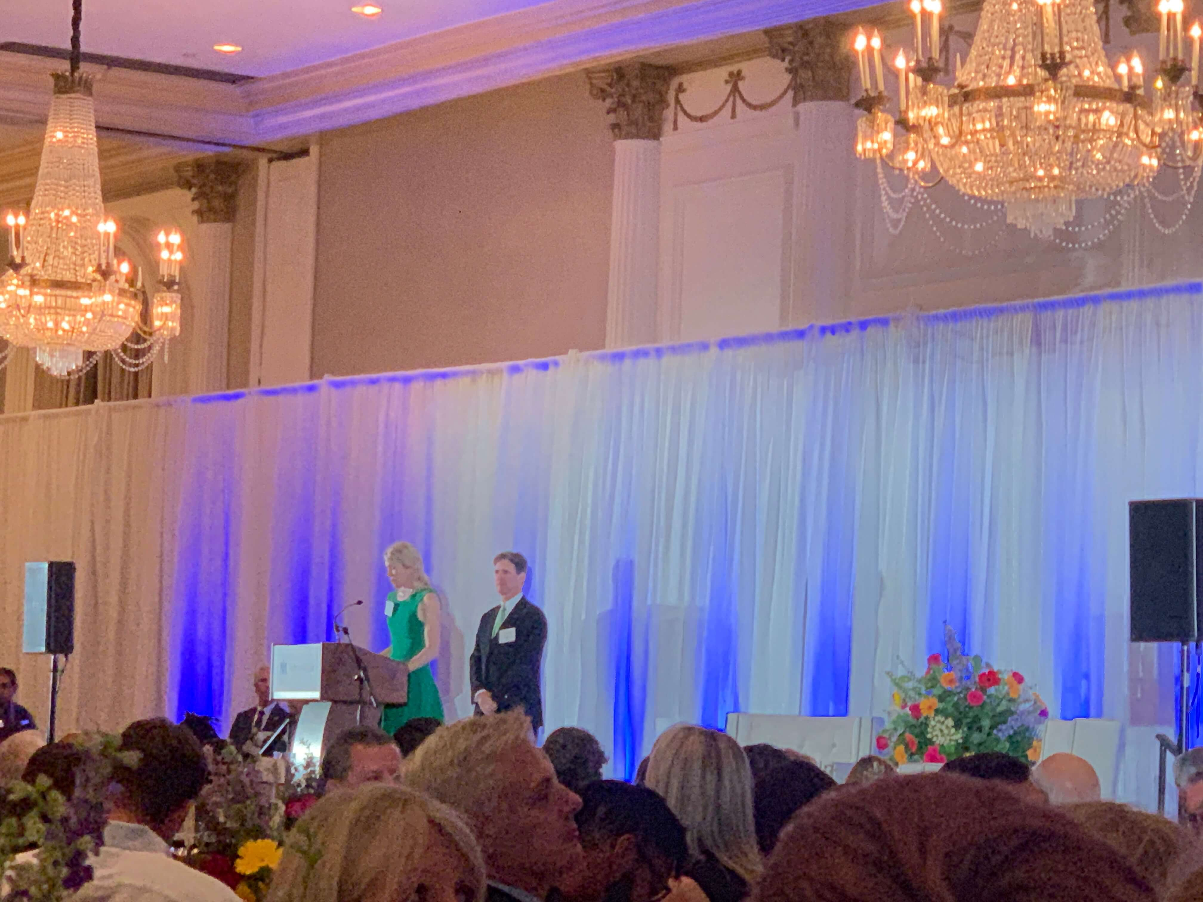 Kate and Jim Lykes served as chairs of The Menninger Clinic's 2019 luncheon.