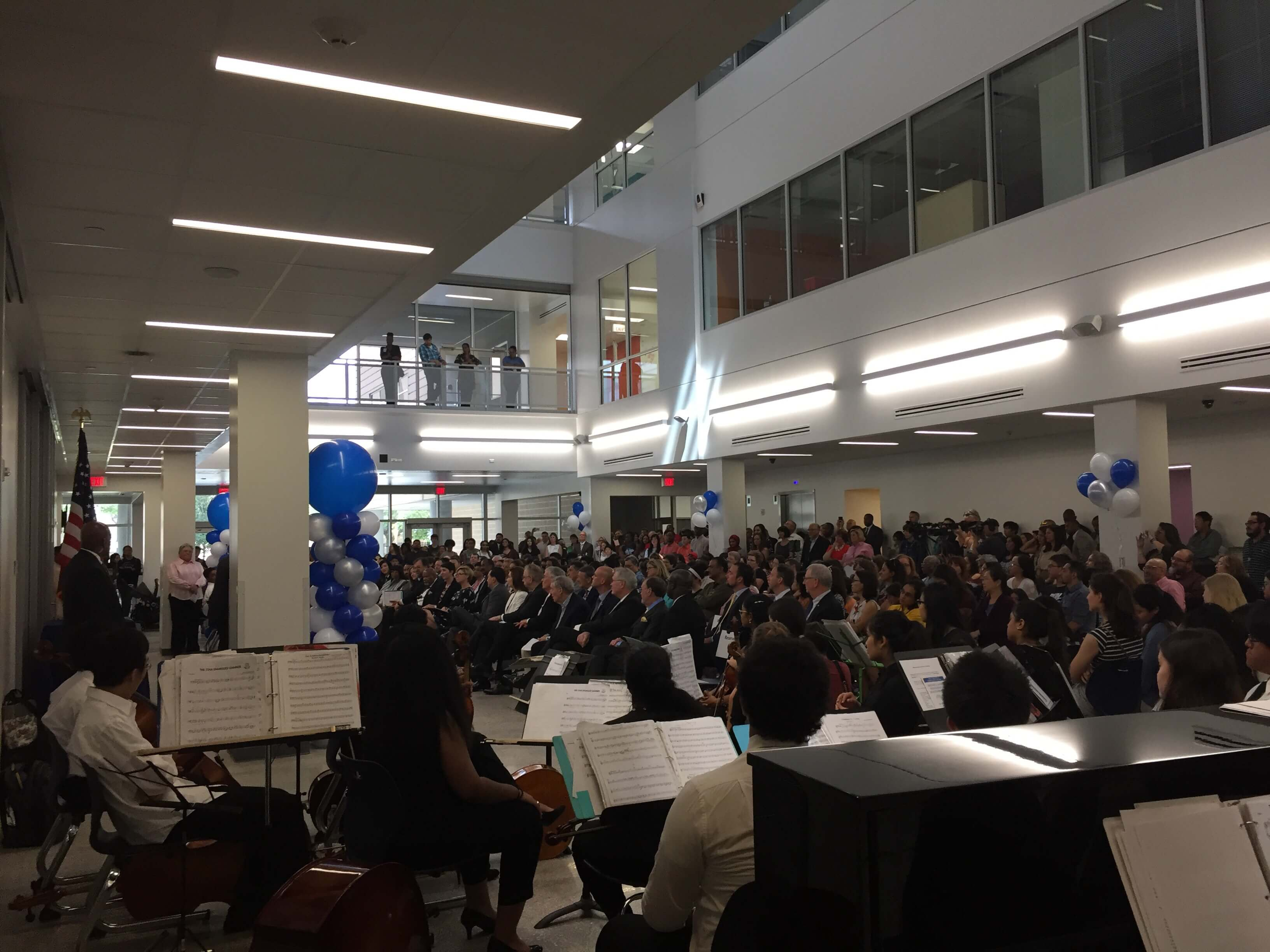 Grand opening celebration for the Michael E. DeBakey High School for Health Professions.