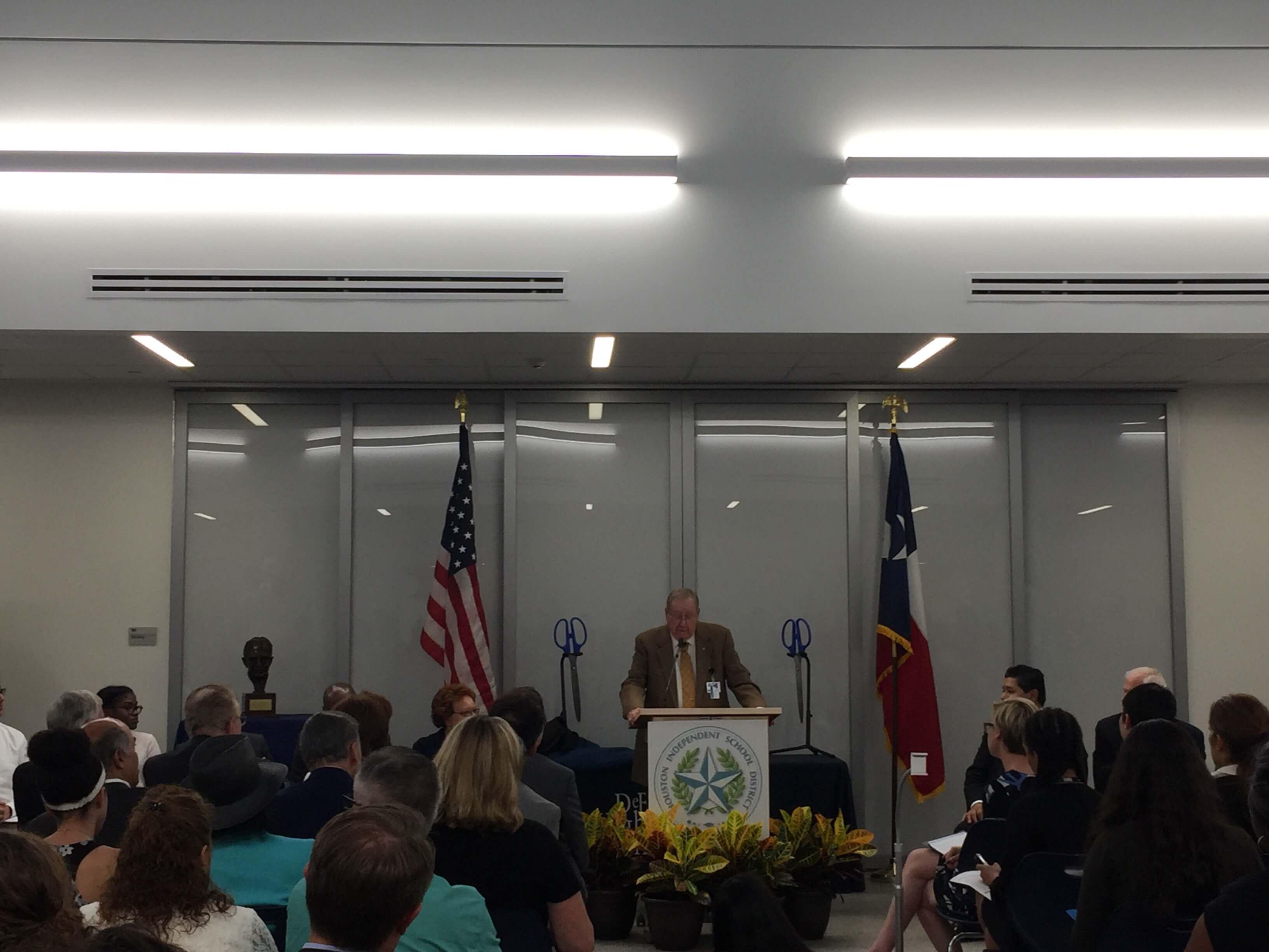 Texas Medical Center President Emeritus Richard Wainerdi reminisces on the journey of DeBakey HSHP and the medical center.