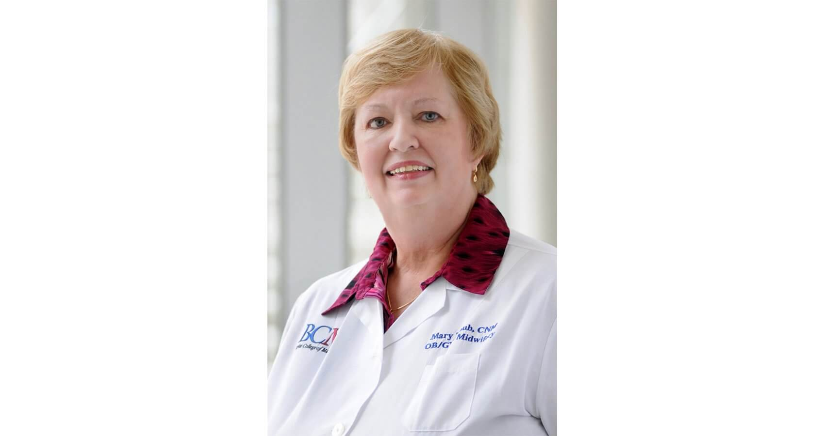 Mary Traub, director of the Midwifery Section at Ben Taub Hospital, advanced practice registered nurse and certified nurse-midwife.