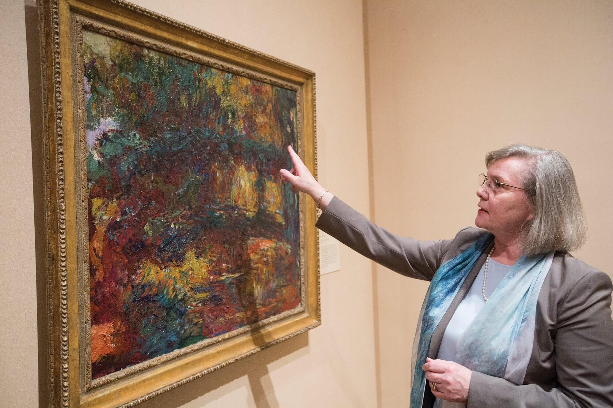 Helga Aurisch, curator of European art at the Museum of Fine Arts Houston.