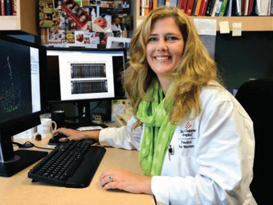Kjersti Aagaard, M.D., Ph.D. (Credit: Baylor College of Medicine)