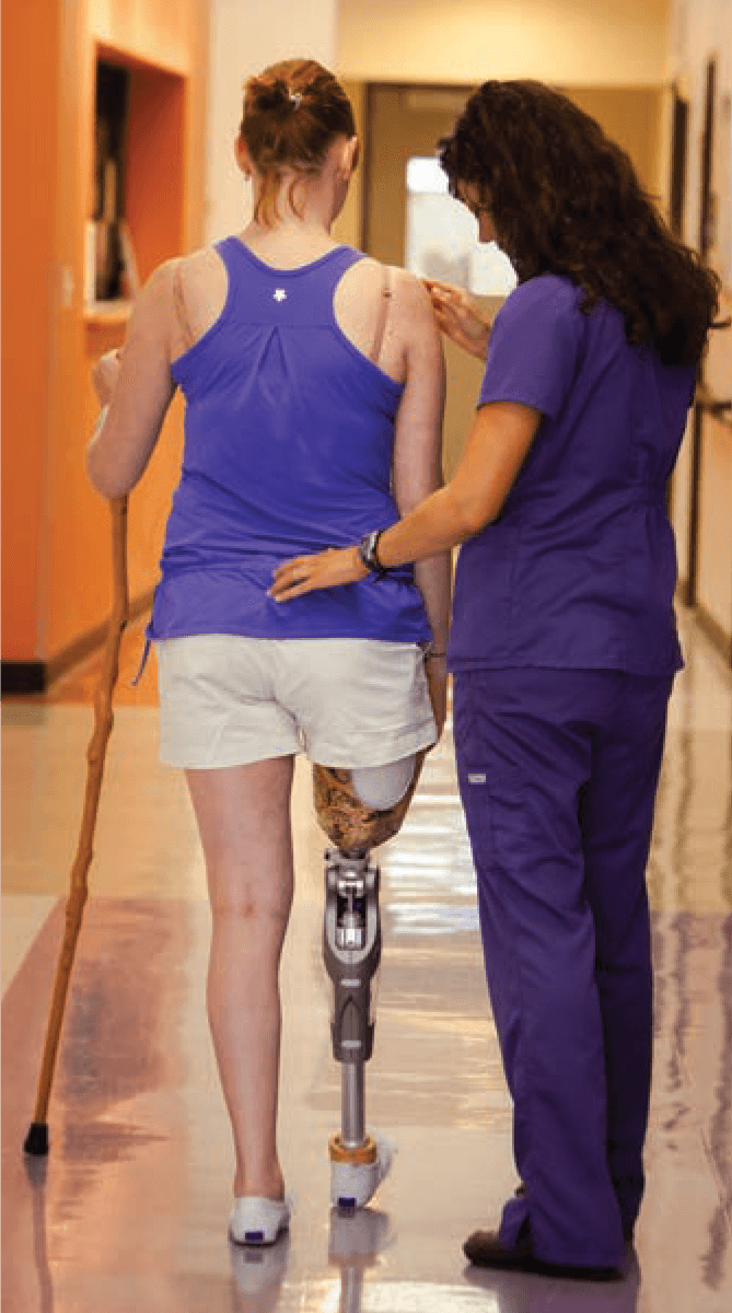 Personalized treatment helps patients optimize balance, mobility, endurance and more.