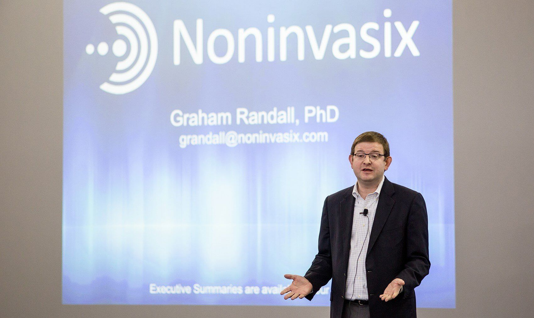 Graham Randall, chief executive officer of Noninvasix.