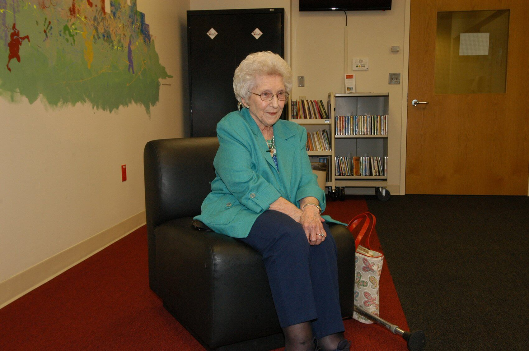 Mary Richardson, Shriners Hospitals for Children - Houston's oldest living patient.