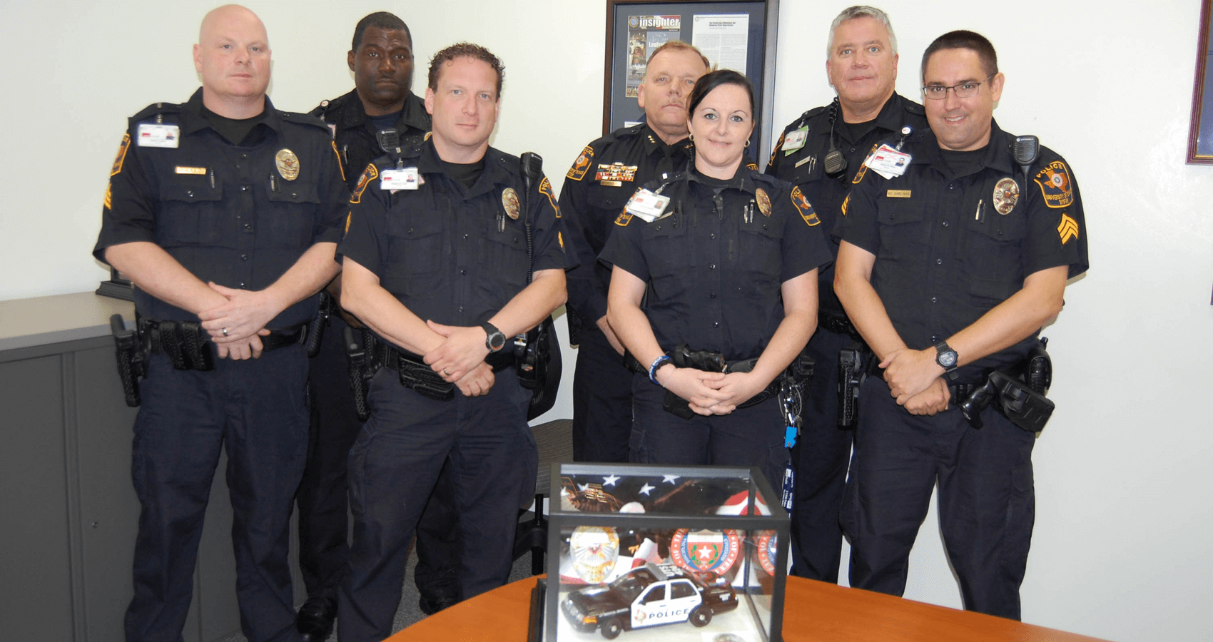 UTMB Police with 2015 Pacesetter Award