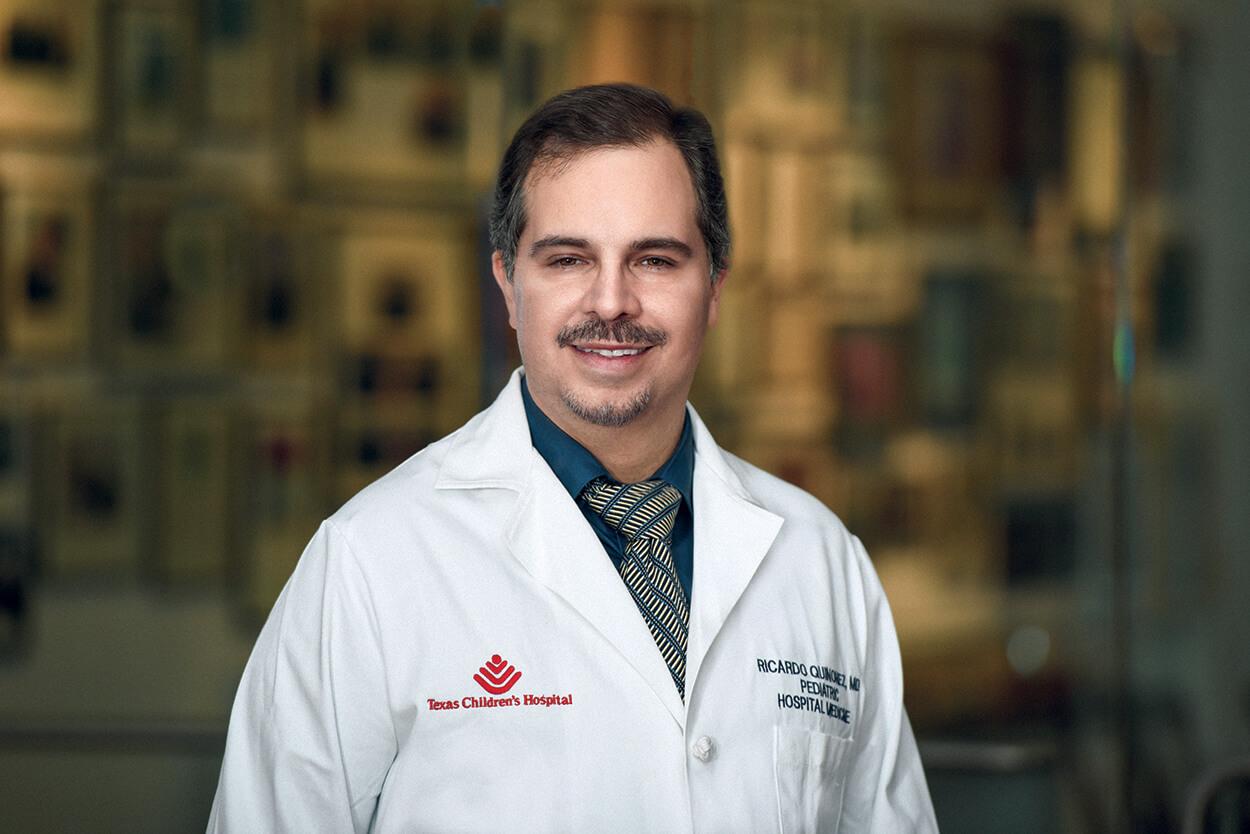 RICARDO QUINONEZ, M.D., associate professor of pediatrics at Baylor College of Medicine and Texas Children's Hospital service chief of pediatric hospital medicine, was selected as a 2018 Pediatric Hospital Medicine Excellence in Clinical Care Award winner.