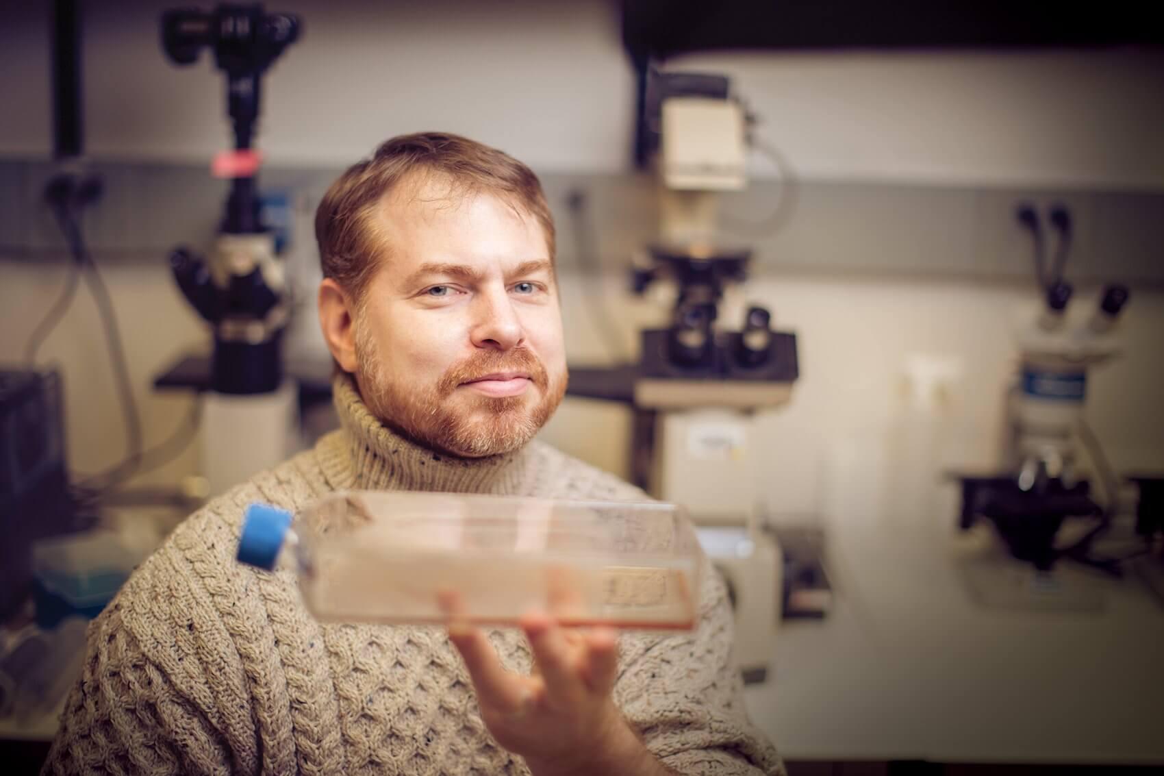 William K. Decker, Ph.D., assistant professor of immunology at Baylor College of Medicine